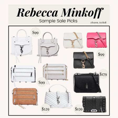Rebecca Minkoff Sample Sals! So many cute bags under $100. Perfect summer handbags   #LTKsalealert #LTKunder100 #LTKSeasonal