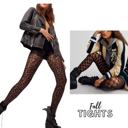 Talking about cool tights to complement your fall looks 😍 #falloutfits #falllooks #falltrends #tights #funtights #LTKfall    #LTKSeasonal #LTKunder50 #LTKstyletip