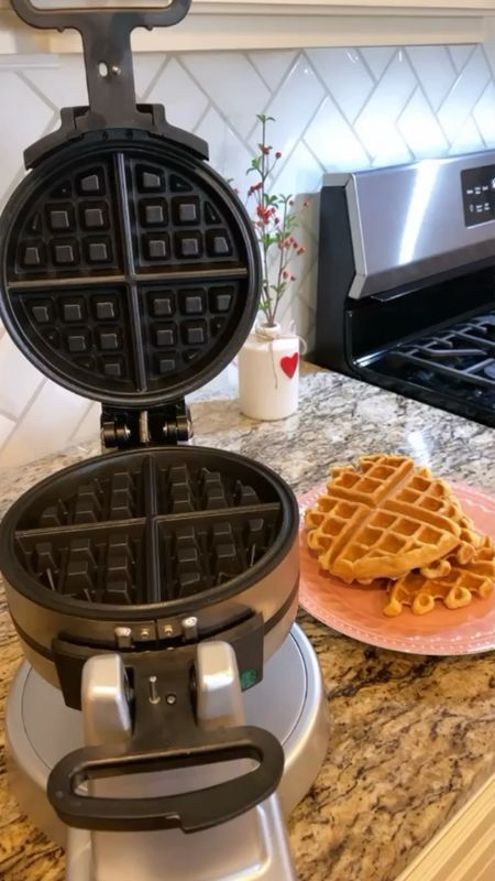 Double waffle maker- we got ours last year as a Christmas gift and love it!! We use to make waffles for brunch - or as a dessert and make ice cream sandwiches with them!   Would make a great home or family holiday gift!         Waffle maker , cuisinart , gift ideas , gift guide , Christmas gifts , holiday gifts , amazon finds , amazon home   #LTKfamily #LTKHoliday #LTKGiftGuide