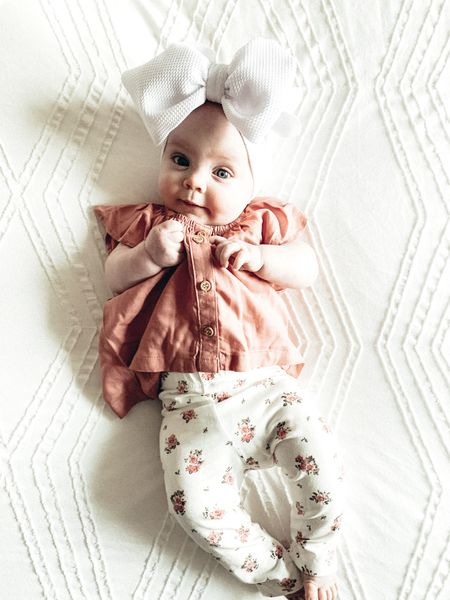 Our baby girl is 5 months old & already has a better wardrobe than me! Loving these H&M baby clothes. I recently did a haul for Rynn and I love everything I got! Definitely going to do another haul. Shop Rynn's look for your baby: http://liketk.it/3drZ9 #liketkit @liketoknow.it @liketoknow.it.family #LTKbump #LTKkids #LTKbaby