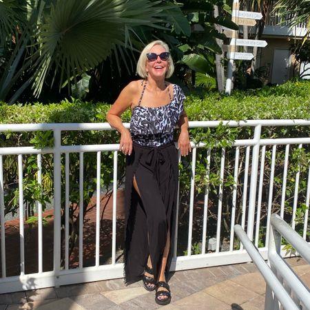 @amazon @nordstrom #amazonfashion #nordstrom #onepiecswimsuit #swimsuitcoverup #swimsuitcoveruppants #sunglasses #nordstromanniversarysale #nsale #leopardprintswimsuit #beachpants #poolsidestyle