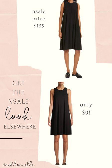 Nsale black tank lookalike dress   #LTKunder50 #LTKsalealert #LTKstyletip