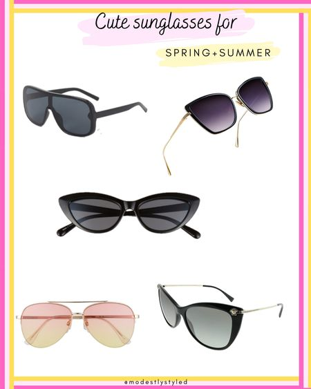 Spend your summer without worrying about getting wrinkles from the sun with these chic sunnies. #sunglasses #summer #LTKSpringSale #LTKsalealert #LTKstyletip #LTKunder50 #LTKfit #LTKtravel #LTKworkwear http://liketk.it/3fECd @liketoknow.it #liketkit