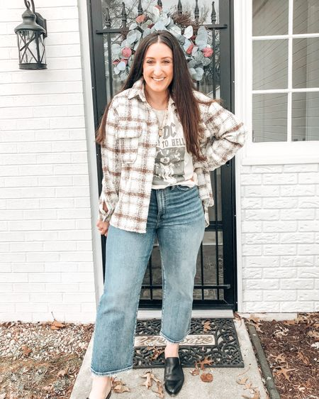 Super cute shackets on sale right now! Just style with a graphic tee with a casual and comfy look.    http://liketk.it/3aAy2 @liketoknow.it #liketkit #LTKunder100 #LTKsalealert #LTKstyletip