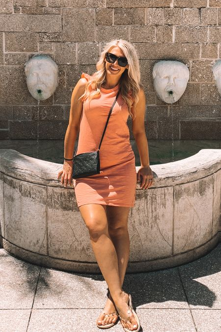 Picked up this $15 dress from target to match kids! It's so comfy and great as a cover up for poolside days or to wear traveling, like I did! I'm probably going to wear it on Memorial Day, too! http://liketk.it/3gg60 #liketkit @liketoknow.it #competition #ltkseasonal #LTKswim #LTKtravel #LTKstyletip