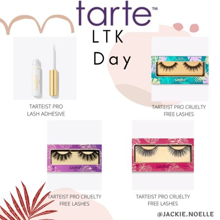 Anyone else obsessed with lashes?! Get these tarte lashes and save this LTK day! Screenshot this pic to get shoppable product details with the LIKEtoKNOW.it shopping app @liketoknow.it #liketkit #LTKbeauty #LTKDay #LTKsalealert http://liketk.it/3hdPv