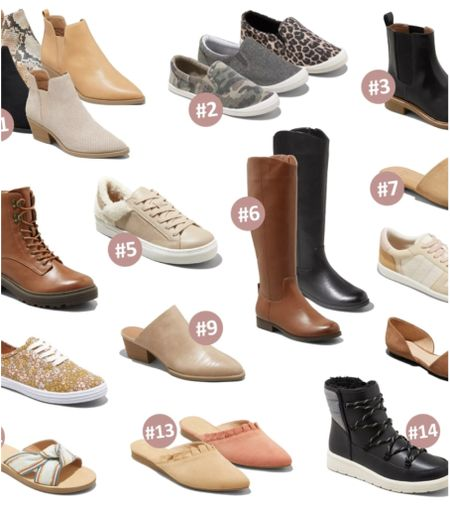20% off all of these shoes, ends today!   Shoes Sale Target Fall    #LTKstyletip #LTKshoecrush #LTKunder100