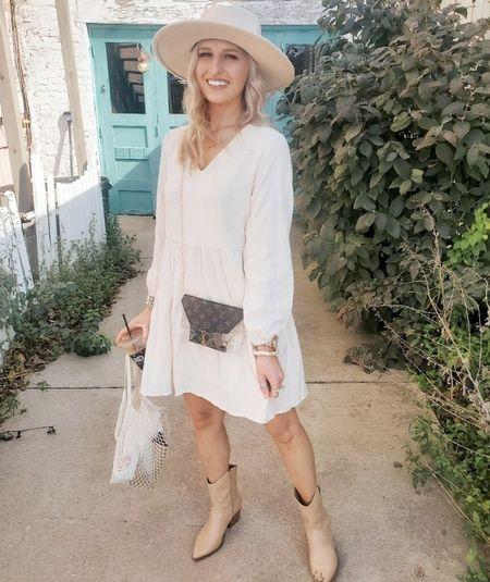 Love this amazon dress & these western ankle booties 😍   http://liketk.it/3pyhg   @liketoknow.it #liketkit #LTKGiftGuide #LTKHoliday #LTKSeasonal #LTKbeauty #LTKitbag #LTKsalealert #LTKshoecrush #LTKstyletip #LTKtravel #LTKunder50 #LTKunder100 #LTKworkwear