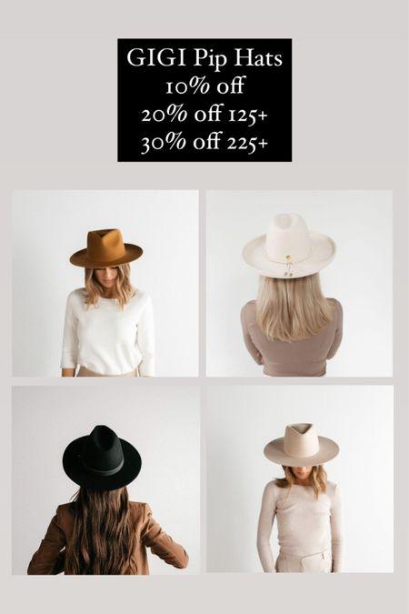 Gift guide for her, gifts for her, flat brim hat, Gigi pip, fedora, hats, cyber Monday. #LTKgiftspo #LTKstyletip #LTKsalealert #liketkit @liketoknow.it http://liketk.it/32L4Q