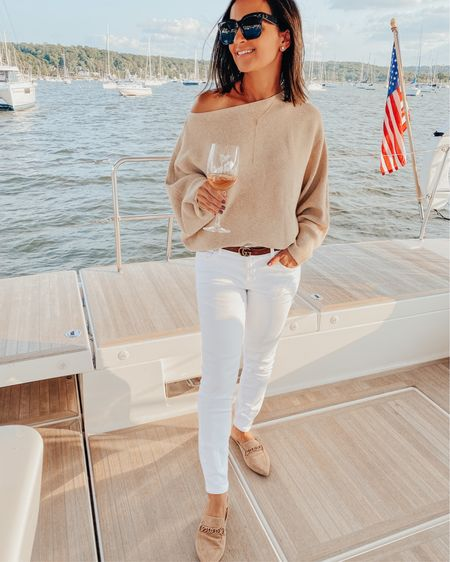 Hello weekend ✨ Last nights dinner & boat sleepover with friends left my heart so full. I am so thankful for each one of them 💖  I got some cute fall sweaters @amazon and this is one of my favorites for under $25 I am also wearing these mules on repeat 🙌🏻   @liketoknow.it #liketkit #LTKunder50 #rStheCon http://liketk.it/2WSeX