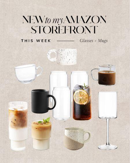 Amazon mugs and glassware #glassware   #LTKunder100 #LTKhome #LTKunder50