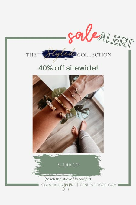 always get asked about my bracelet stack - a lot of it is from The Styled Collection, and I can't recommend them enough! Their quality is amazing 👌🏽  40% off sitewide today through 9/21! grab your stack now 🙃  #LTKaustralia #LTKSale #LTKstyletip