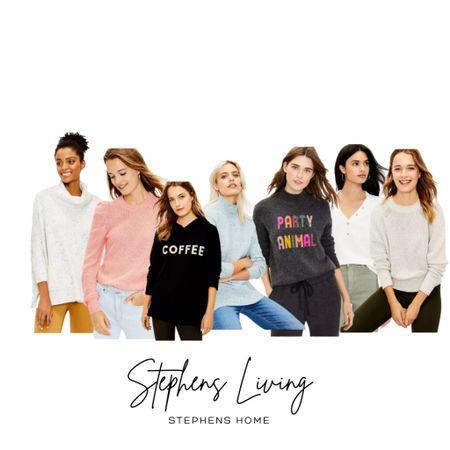 Loft is having $30 sweaters!!!! Run 🏃🏼♀️  . . . Women's sweaters, sweaters, clothes, petite, winter, fall, clothing    #LTKsalealert #LTKworkwear #LTKstyletip