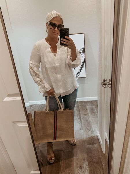 Amazon Find!   Loving this top, gucci bag vibes and is such great quality too! Definitely a keeper!     ______ #amazon #amazonfinds #amazonfashionfinds #amazonfashion #amazonstyle #amazondeals #founditonamazon #amazoninfluencer #amazonshoes #Leeannbenjamin #stylinbyaylin #cellajaneblog #lornaluxe #lucyswhims #amazonfinds #walmartfinds #interiorsesignerella #lolariostyle  #express #casual # casualoutfit  #gucci   #LTKsalealert #LTKstyletip #LTKwedding