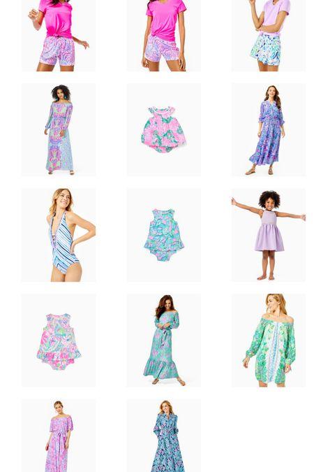 Lilly Pulitzer Sale! Lilly sale. Dresses on sale. Activewear on sale. Swimwear on sale. Girls clothes. Sale alert. Summer sale.   #LTKunder50 #LTKSale #LTKsalealert