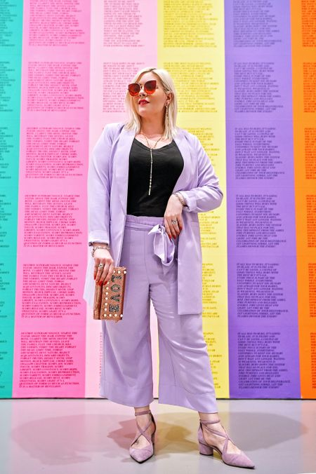 Sicker than your average ... suiting, today 🔛 the blog! 💟🦄🚺 Screenshot this pic to get shoppable product details with the LIKEtoKNOW.it app @liketoknow.it http://liketk.it/2vMhZ #liketkit #LTKbeauty