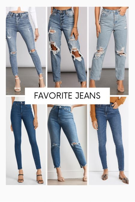 Linking some of my favorite skinny jeans, distressed jeans, mom jeans, and more from Express, Windsor, Forever 21 and Amazon!! http://liketk.it/3bhXG #liketkit @liketoknow.it #LTKunder50 #LTKunder100 #LTKstyletip
