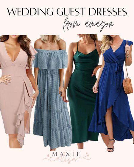 Wedding Guest Dresses From Amazon 🥂  #weddingguestdresses #amazonfashion #summerdress #weddingguestoutfit #outfitforweddingguest  #LTKwedding #LTKSeasonal #LTKunder50