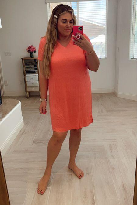 curvy cozy sleep dress! wearing the size xl http://liketk.it/3gNCd #liketkit @liketoknow.it #LTKcurves #LTKunder50