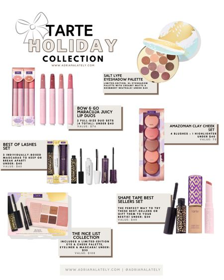 Tarte cosmetics, Tarte must haves, tarte, Tarte shape tape, gift ideas, holiday   #LTKGiftGuide #LTKHoliday #LTKbeauty