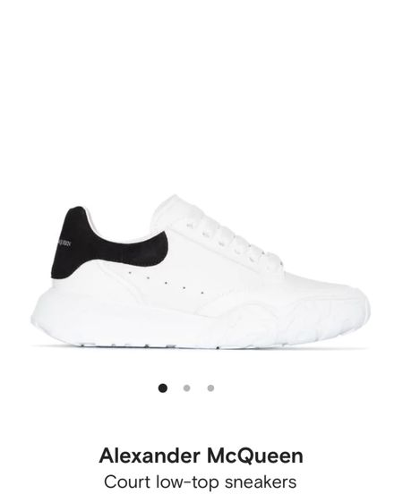 More than your average basic white tennis shoe with these Alexander Mcqueen court shoes. http://liketk.it/38D71 #liketkit @liketoknow.it #LTKshoecrush Follow me on the LIKEtoKNOW.it shopping app to get the product details for this look and others