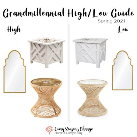Even though it's *not quite* Spring, we've had a few spring-like days that have inspired me to put together my Grandmillennial High/Low Guide for Spring 2021 a little early.  Happy Bargain Hunting!  #grandmillennial #grandmillennialstyle #grandmillennialdecor #homeinspo #decorcrushing #highlowguide #shopsmart #grandmillenial #traditionalhome #collectedhome #chinoiserie #amazonfinds #bargaindecor #amazonsteals #walmartfinds #serenaandlily #onekingslane #chinoiseriechic #chinoiserie http://liketk.it/39yIf #liketkit @liketoknow.it #LTKSeasonal #LTKhome @liketoknow.it.home Shop your screenshot of this pic with the LIKEtoKNOW.it shopping app