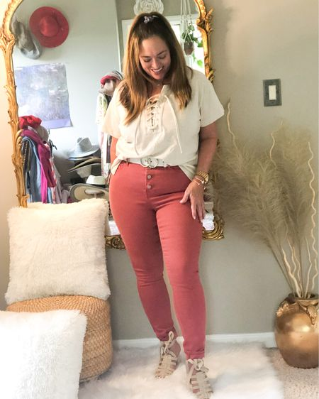 A little oatmeal and spice to spruce up your color palette for Spring.  Actually this will transition beautifully into Summer and Fall. Super comfortable and value priced! This top is available in multiple colors!  Dressing-it up with block heel sandals.   Join me and my friends for #FashionFriday  @roomtoveuve @deborahsorlie @jaxvegancouple @mymidlifestylist @kandidlykim @overfiftyandblessed @fashionablyfifty @gwenliveswell @brigittemarieforet @just.lorilyn @patrishpages @distinctlysouthernstyle @joyousstyling @kandidlykim @mymidlifestylist @fashionablyfifty  @jaxvegancouple @deborahsorlie @robinlamonte  . . . . . .  http://liketk.it/3d0ik #LTKshoecrush #LTKcurves #LTKunder100 #liketkit @liketoknow.it.brasil @liketoknow.it.europe @liketoknow.it.home @liketoknow.it.family @liketoknow.it Download the LIKEtoKNOW.it shopping app to shop this pic via screenshot