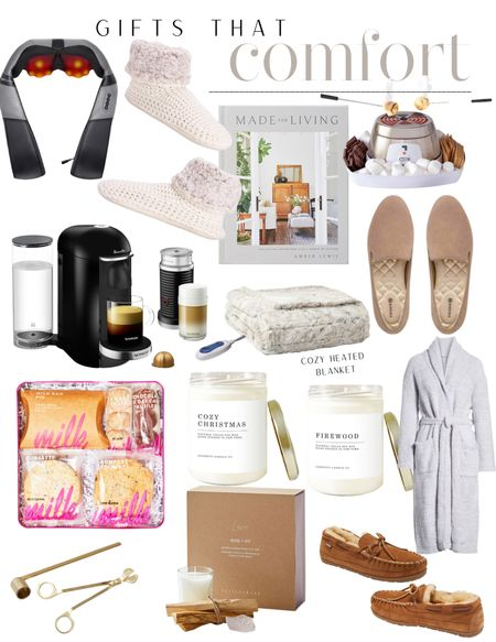 Gifts that comfort, gift ideas for him, gift ideas for her, holiday gift guide, home gifts and more🎄  #LTKGiftGuide #LTKHoliday #LTKSeasonal