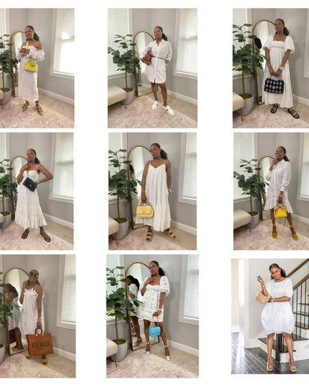 #touchitcallenge - White summer dresses edition. @liketoknow.it http://liketk.it/3hFuq #liketkit #LTKstyletip #LTKunder100