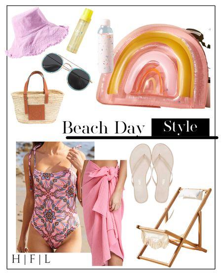 One piece printed bathing suit, pool float, beach day, pool outfit http://liketk.it/3hNiE #liketkit @liketoknow.it #LTKswim #LTKunder50 #LTKtravel