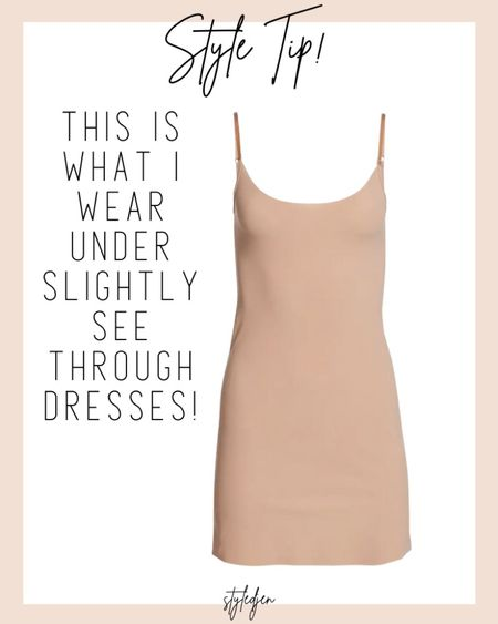 Slip for under dresses! I size up to the small/medium instead of the xs     #LTKunder100 #LTKsalealert #LTKstyletip