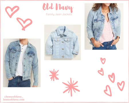 Top selling jean jackets for the family! All fit true to size I wear a size large! http://liketk.it/2TByy #liketkit @liketoknow.it #LTKfamily #LTKunder50 #rStheCon Shop my daily looks by following me on the LIKEtoKNOW.it shopping app