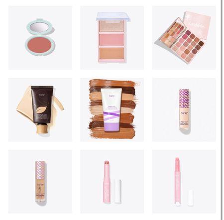 Tarte beauty picks!  I love the juicy lip gloss!  Also love travel sized items for vacation packing               Tarte, LTKDay #ltkunder50 , makeup, juicy lip #ltktravel  #LTKbeauty #LTKsalealert #LTKDay
