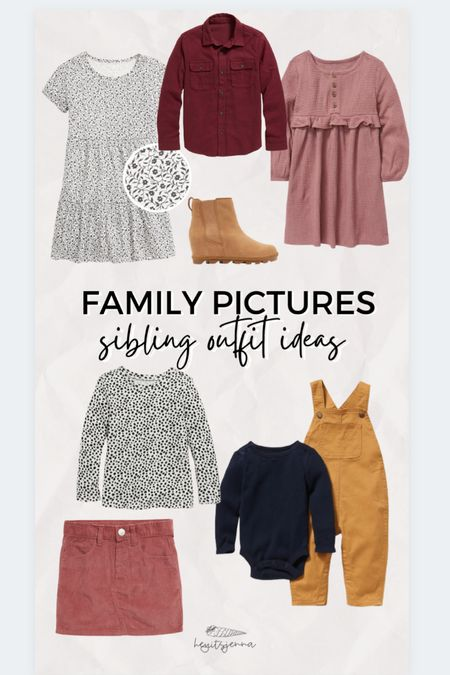 Family picture outfit ideas for siblings  Brother and sister matching outfits Christmas card outfit ideas Family photos   #LTKfamily #LTKSeasonal #LTKHoliday
