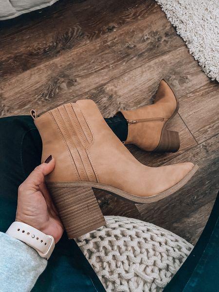 Fall boots ❤️Found these cuties at Target!  Target style, Target fashion, Target boots, fall boots, booties, sale  #LTKsalealert #LTKunder50 #LTKshoecrush