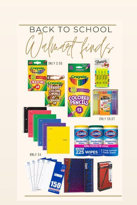 Back to school items from Walmart!! #walmartfashion #walmartfinds #bts #backtoschool  #LTKfamily #LTKunder50 #LTKstyletip