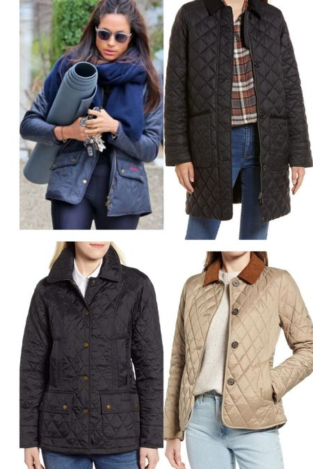 Barbour quilted jackets at the Nordstrom sale  #LTKeurope