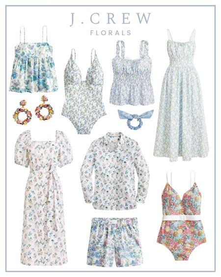 My favorite floral pieces from J. Crew!   #LTKSeasonal #LTKunder100 #LTKunder50