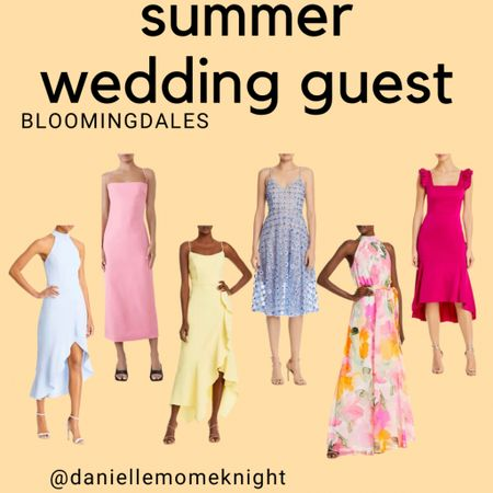 Summer Wedding SZN is here!  Check out my Bloomingdales picks for weddings guests   http://liketk.it/3ggpZ #liketkit @liketoknow.it #LTKunder100 #LTKwedding
