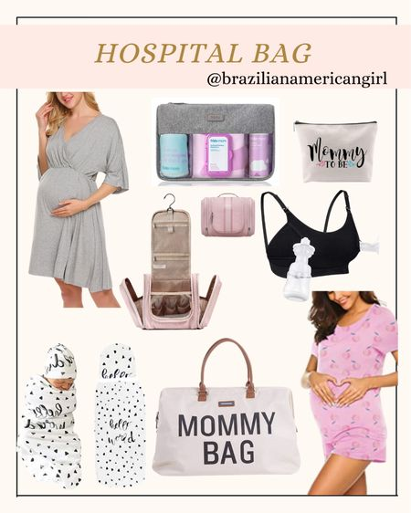 Hospital Bag  #hospitalbag #maternity #amazonfinds #amazonfind    #LTKbaby #LTKbump #LTKsalealert
