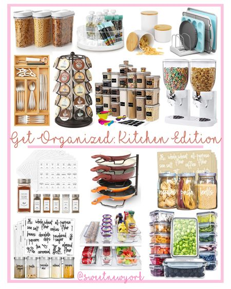 Amazon finds and more! Get your kitchen organized with these affordable solutions http://liketk.it/3egjd #liketkit @liketoknow.it #LTKhome #LTKfamily #LTKstyletip
