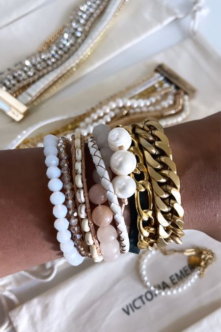 Sale alert. 40% off everything except gold. But you can use my code 20Chelsea for 20% off my Victoria Emerson bracelets!! These would make a great gift! Rounding up my favorites here     #LTKHoliday #LTKGiftGuide #LTKunder100