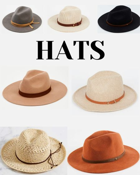 Everyone loves a good hat. I get questions about mine often! The last couple hats I've bought were from Altar'd State. Here are some faves I'm eyeballing… I definitely need that orange one!  #LTKcurves #LTKstyletip #LTKunder100