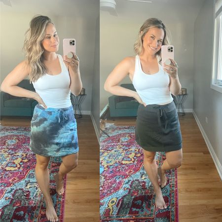 Wal mart finds! These skorts are so cute and comfy and super affordable! Linked some other workout skorts from wal mart! My workout top is an amazon find   #LTKfit #LTKsalealert #LTKunder50