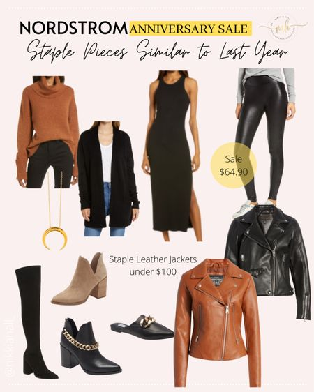 Items super similar to things I bought last year during the Nordstrom sale and are fall staples.   #LTKsalealert #LTKstyletip #LTKunder100