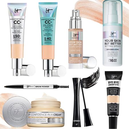 20% off best sellers at It Cosmetics. These are my favorite beauty products from this brand. I can't live without this cream!    #LTKbeauty #LTKunder50 #LTKSale
