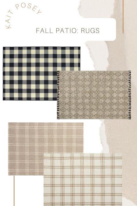 Fall rugs indoor / outdoor