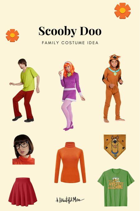 Scooby Doo family costume picks (on Amazon!)   #LTKSeasonal #LTKunder50