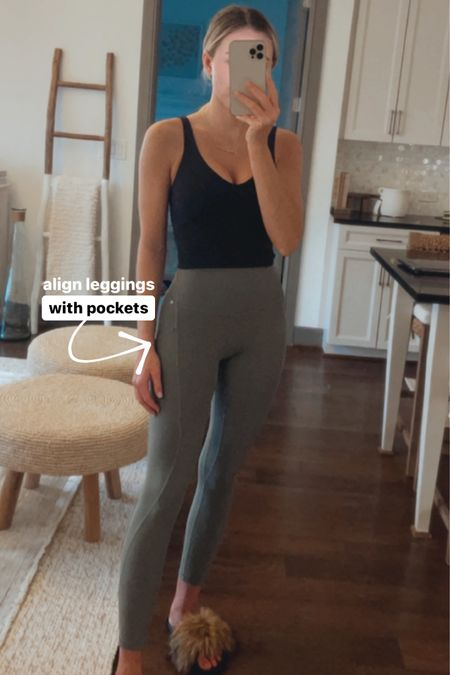 lululemon high rise align leggings with pockets! http://liketk.it/3arkG @liketoknow.it #liketkit #LTKfit