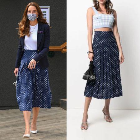 Kate Alessandra rich skirt #print #dots   #LTKstyletip